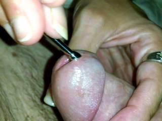 My wife loves to play with my dick hole