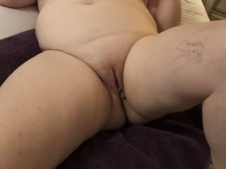 Showing her pussy for you to ...?
