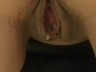 Freshly fucked care to add some more or lick me clean?