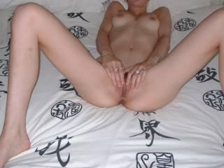 legs wide open.....Ready x