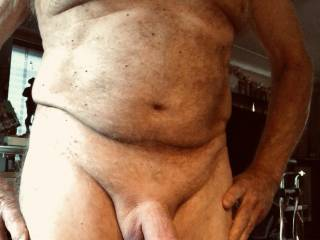 Showing my cock off for a friend in Fiji.