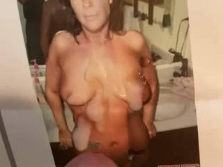 This hot sexy milf demand I tribute her again said it's been to long since you jack that young cock and  gave me you cum so do it now and yes I listen and it was to long I held long as I did  and blast off 🍆💦💦💦💦💦👩🦳