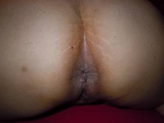 After fucking my ass with my toy. I\'m looking for some cock..