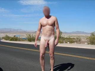 Enjoying another day of nude hiking.  It had been awhile since I ran into anyone, but today I saw one guy and to two ladies.  The guy had the best response and the ladies just waved.   Do you enjoy being nude outdoors?