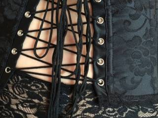 The strings of my corset