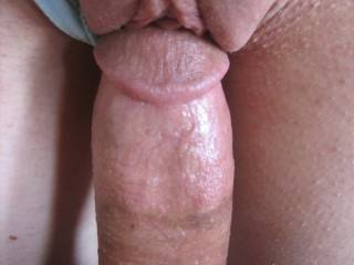 wow what a perfect view.... nice cut cock sliding into a lovely pussy very very hot!