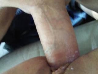 It felt so good inside her tight wet creamy pussy