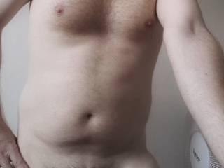 Pale & Posing Nude..