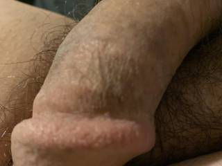 About to get it hard by watching some porn or live cam and shooting my load!!! Wouldn't you want to wrap your warm wet lips around this and taste my spunk???