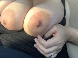 Another public pic of my tits
