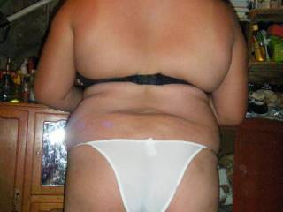cute panties on a sexxy butt, very sensual, thanks!