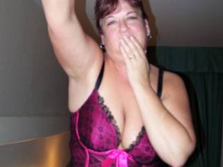 my slutty wife Stacy in the hotel room in Seattle