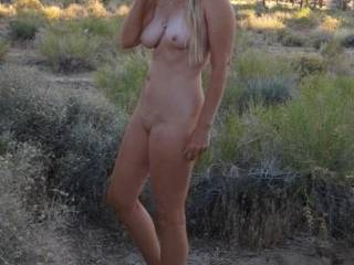 I agree. Stunning body! Love the naked outdoors photo. Would like to see more of this stunning body and beautiful lady. (Mr. G)