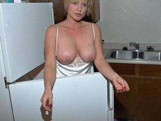 If I was there you wouldn't need the cold air to get your nips hard!  I'd kiss, suck and nibble on those nipples until they were long and hard...