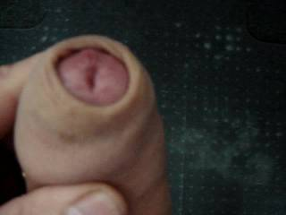 i would be happy to take your thick uncut cock in my mouth!!!