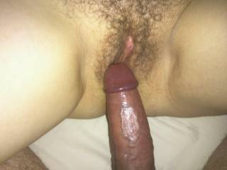 Me taking my husbands cock and getting sooo wet. he wanted to cum but i wouldn\'t let him just yet. more cum on my photos please.