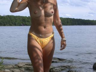 Marvelous so sexy and hot on that bikini Marvelous breasts delicious curves voted for this one Mike and Betty