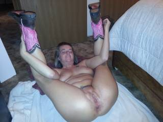She came to you offering her fuck holes and you took them well. She should grant you the right to fuck her and use her at any time you want now since you have been a great sex bull inside her. You should let her know you already claimed those holes as yours even if she's married to another man. Her holes are yours first.