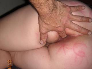she love to have her ass played with