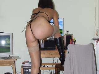 Would love to spank that ass...