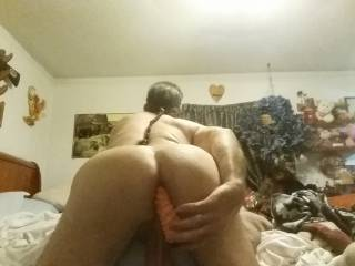 I'd like to change places with the toy and grab you by the hair and fuck you hard. Mark