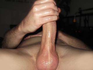 Balls filled with cum, rockhard and ready for a good fuck.