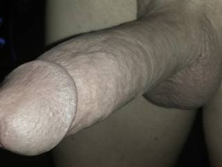 My humble barrel of a cock, for when you ache for that full, deep penetration that takes your breath away.