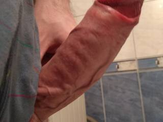 bathroom, big dick, thick dick, boner, horny