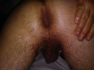 His big butthole