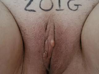 Freshly shaved!! Now I could use a good long licking!
