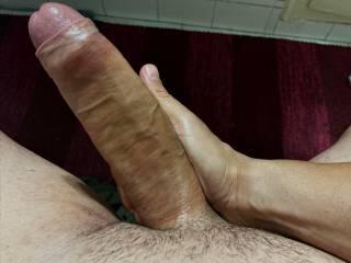 That\'s my big uncut cock !