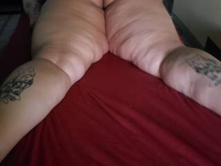 Wife ready for her massage