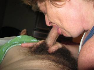 She looks like she loves sucking cock!!  Love to have her suck my throbbing meat right now!!!