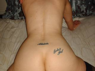 What an ass, and her pussy lips nice and open for another go