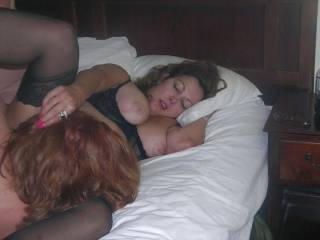 """Anna is a mature hotwife available for women and men with cocks over 10""""."""