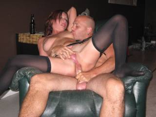 I love his big cock in my ass