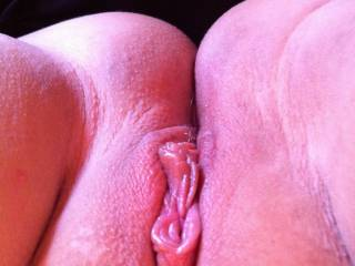Looking at that very inviting pussy makes my cock crazy hard! Would love to feel that hot and wet pussy wrap around my hard cock! Mmmm, i would pound you hard and deep until you cum many times!