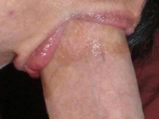 mmm love those sexy lips around my cock!!