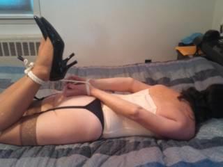 Bedroom bondage..
