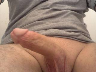 Nice cock and balls we'd like to play with them