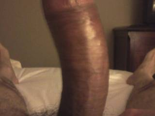 My cock is ready, who wants to ride?