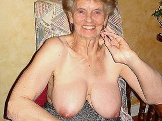 love to glaze those big soft granny tits with a massive load of my thick hot cum