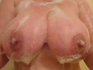 Always wet sometimes soapy 😉