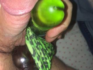 Fucking and stroking myself with a couple of my toys;)
