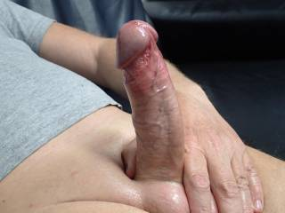 She loves to watch me play with my cock and to take photos. Watching me stroke it, use sex toys, and to see me cum. If you like CFNM then let's chat.