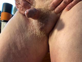 Yes, my aging cock can still get hard!