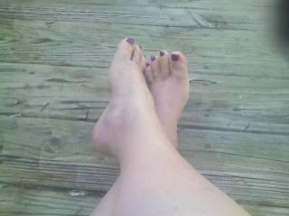 wanna pamper my feet?