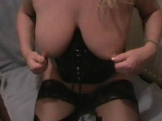 happy to help licking & sucking them fondling then fucking your lovely tits