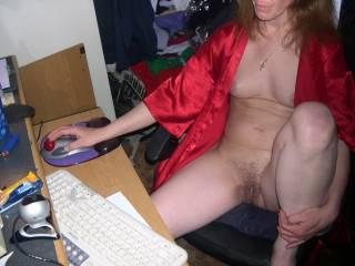 showing for cam viewers
