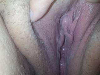 Dam wishing i could suck your pussy with my pierced tongue and bury my tongue in your ass until you nut.  Sexxxxy